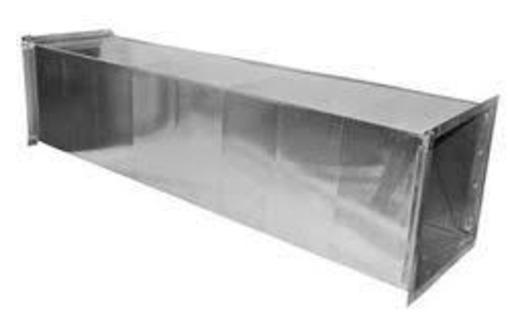 Вентиляция: прямоугольные воздуховоды - Металлы, металлопрокат в Севастополе