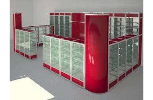 Изготавливаем стеллажи,витрины и прилавки - Мебель на заказ в Севастополе