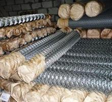 Сетка-рабица оцинкованная, прочная - Металлы, металлопрокат в Белогорске