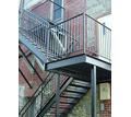 Изготовление металлических лестниц. Металлообработка :гиб до 10мм , рубка до 25мм, сварка и резка - Металлические конструкции в Крыму