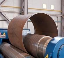 Вальцовка листового металла. Гиб до 10мм , рубка до 25мм, сварка и резка металла. - Металлические конструкции в Симферополе