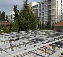 Армированные каркасы, колонны, фермы, лестничные марши, площадки, нестандартные конструкции - Строительные работы в Севастополе