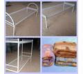 Кровати металлические для рабочих, общежитий - Мебель для спальни в Саках