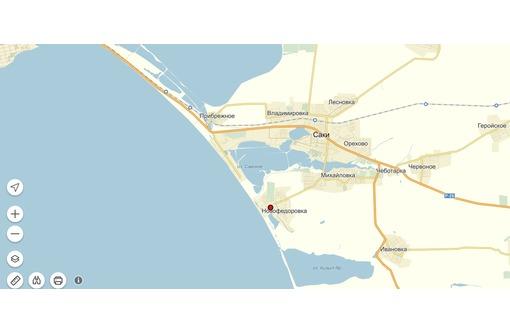 Продажа участка 800 м от моря в пгт. Новофедоровка - Участки в Саках