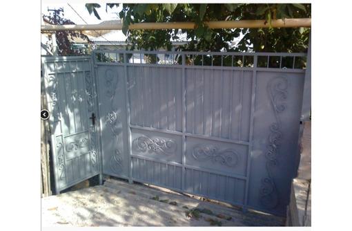 Калитки, ворота: изготовление, установка в Севастополе и пригороде. - Заборы, ворота в Севастополе