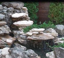 ландшафтный дизайн водопады водоемы - Ландшафтный дизайн в Симферополе
