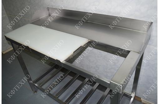 Стол разделочный со сбросом на одно рабочее место - Продажа в Черноморском