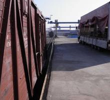 Прием и отправка вагонов по Крымской железной дороге. - Грузовые перевозки в Феодосии