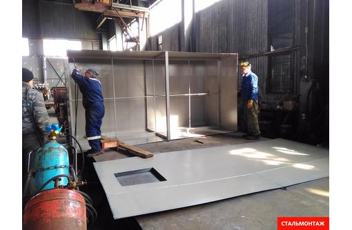 Металлические каркасы, ёмкости, резервуары до 3500 кб.м нестандартные конструкции из металла. - Металлические конструкции в Севастополе