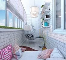 Внутренняя и наружная обшивка, остекление балконов - Балконы и лоджии в Евпатории