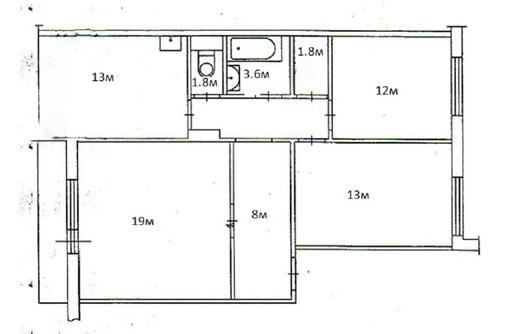 3-комнатная от собственника пгт. Первомайское - Квартиры в Красноперекопске
