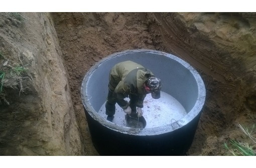 Бетонные крышки, днища, кольца кс-15.9. для канализации.. - ЖБИ в Севастополе