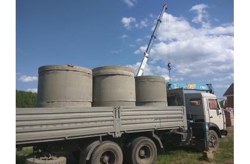 Бетонные кольца; крышки, днища. Доставка-установка - ЖБИ в Севастополе