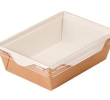 Салатник с прозрачной крышкой Eco Opsalad 400 - Посуда в Симферополе