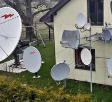 Монтаж и обслуживание спутниковых и эфирных антенн. - Спутниковое телевидение в Ялте