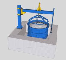 Вибропресс для бетонных колец - Инструменты, стройтехника в Крыму