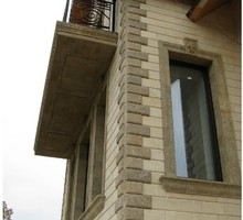 Отделка фасада натуральным дагестанским камнем - Строительные работы в Черноморском