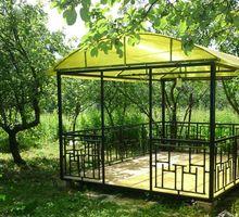 Металлическая беседка разборная «Радуга» - Садовая мебель и декор в Крыму
