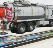 Каналопромывочная машина, каналопромывочные работы. - Сантехника, канализация, водопровод в Симферополе
