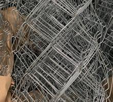 Сетка-рабица оцинкованная, прочная - Металлы, металлопрокат в Феодосии