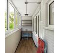 Внутренняя и наружная обшивка, остекление балконов - Балконы и лоджии в Симферополе
