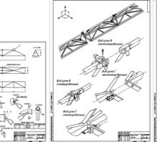 Производство креплений (пристёжки) для башенного крана. Аренда монтажных кранов - Строительные работы в Севастополе