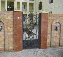 Изделия из металла. Заборы, ворота, двери. - Заборы, ворота в Евпатории