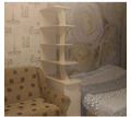 Стеллаж светлый интересного дизайна - Мебель для гостиной в Крыму