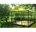 Металлическая беседка разборная «Радуга» - Садовая мебель и декор в Севастополе