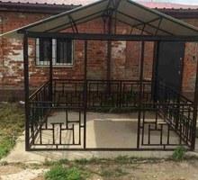 Металлическая беседка разборная «Домик» - Садовая мебель и декор в Крыму