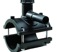 Седелка с фрезой 110*32 ПЭ 100 SDR 11 - Сантехника, канализация, водопровод в Симферополе