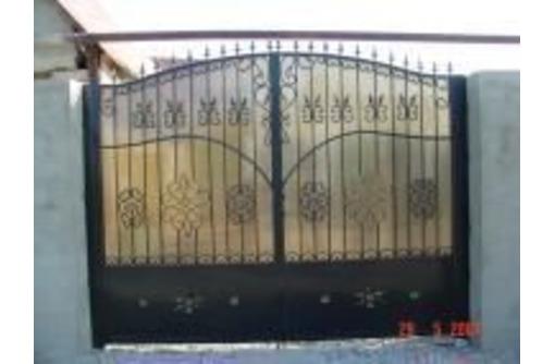 Ворота дворовые, гаражные и откатные в Феодосии – индивидуальный подход, доступные цены! - Металлические конструкции в Феодосии