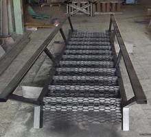 Лестницы, ограждения, мангалы, ёмкости , нестандартные металлоконструкции. - Металлические конструкции в Евпатории