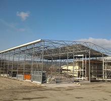 Производство и монтаж металлических каркасов для зданий. - Строительные работы в Симферополе