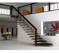 Изготовление лестниц, лестничных маршей из дерева в Саках – ИП Борисов. Для самых требовательных! - Лестницы в Саках
