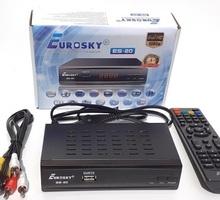 Цифровая приставка DVB-T2 Eurosky ES-20,Красногвардейское - Медиа проигрыватели в Крыму