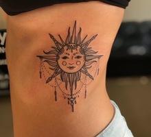 Татуировка и пирсинг в Евпатории. Японская татуировка - Косметологические услуги, татуаж в Евпатории
