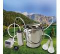 Доильный аппарат для козы с пульсатором и ведром 5 литров - Сельхоз животные в Симферополе