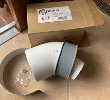 Коаксиальное колено для турбированного котла - Газ, отопление в Евпатории