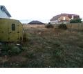 Продам участок 7,5 соток в пригороде Евпатории Заозерном. Участок ровный, не вытянутый - Участки в Евпатории