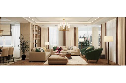 Дизайн проект интерьера дома, квартиры 1500 руб.м.кв. При заказе второго и более проектов скидка - Дизайн интерьеров в Саках