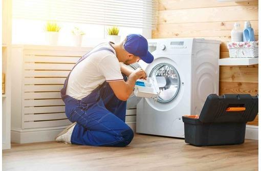 Подключение, ремонт и обслуживание стиральных машин, фото — «Реклама Керчи»