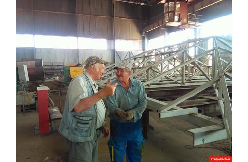 Строительные услуги: металлические каркасы одноэтажных зданий, свайные  каркасы, закладные ... - Строительные работы в Севастополе