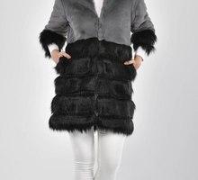 куртка пальто из искусственного меха - Женская одежда в Керчи