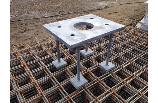 Закладные детали, армокаркасы, нестандартные металлоконструкции.Гиб до 10мм , рубка до 25 мм - Металлические конструкции в Севастополе