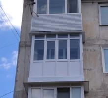Витражное остекление балконов и лоджий из металлопластика и алюминия - Балконы и лоджии в Севастополе