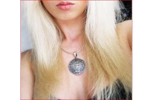 Серебряный медальон календарь ацтеков, фото — «Реклама Севастополя»