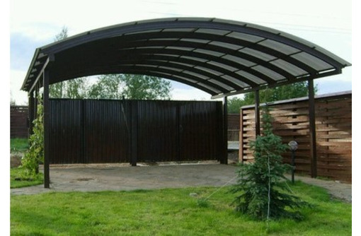 Металлоконструкции : гаражи, ворота, навесы, лестницы, ангары, ёмкости. Рубка, гиб, сварка., фото — «Реклама Севастополя»