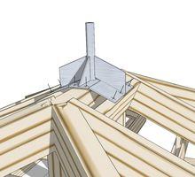Нестандартные металлоконструкции : крепления молниеприёмника ,арки, мангалы, катерные балки. - Строительные работы в Севастополе