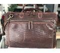 """Мужская сумка """"Зейд""""-01- Коричневый крок от дизайнера Ирины Берзиной. - Мужская одежда в Севастополе"""